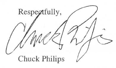 chuck phillips signature