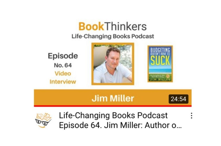 jim miller on bookthinkers podcast