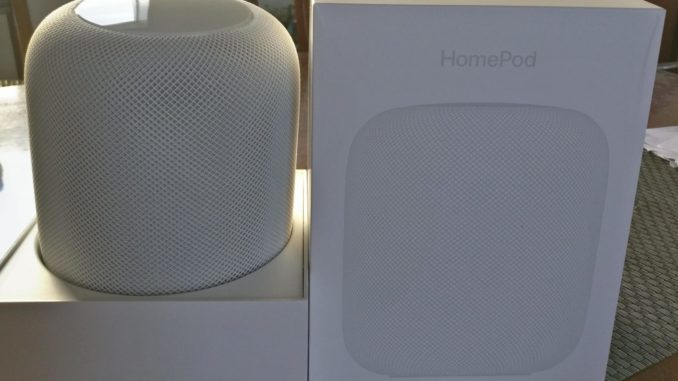 My HomePod