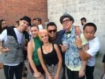 Pacman, Vicky, Marcus, Shark Faicol