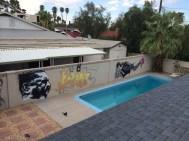 DoKnock's backyard