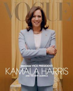 Kamala Harris Vogue Cover Controversy