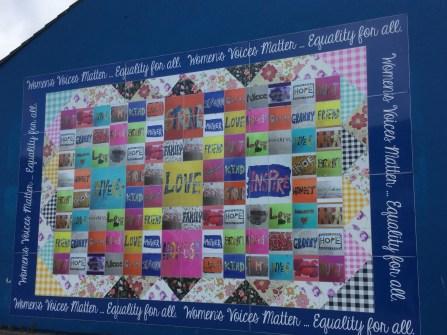 Women's Quilt Shankill Road area: Belfast