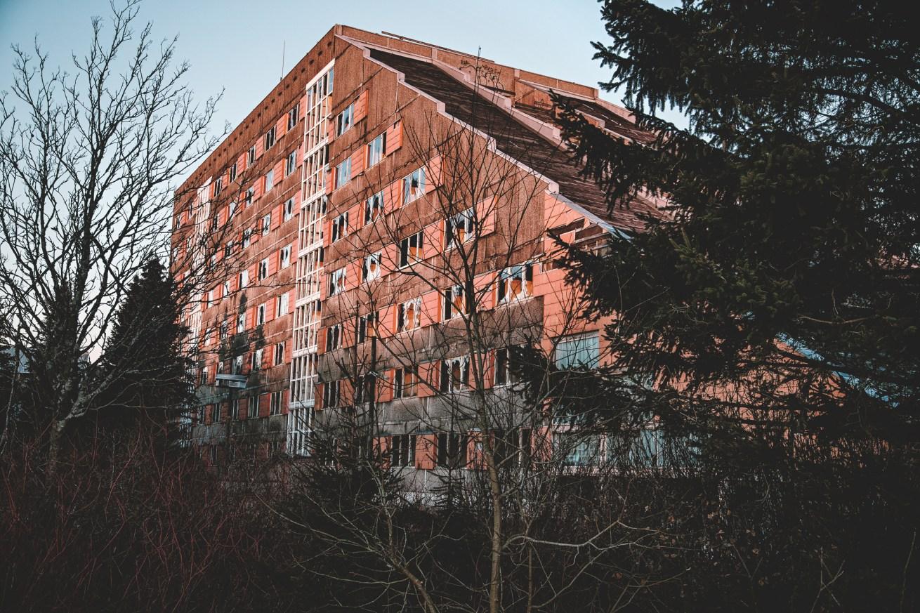 iamlost verlassene orte NVA Hotel Frauenwald