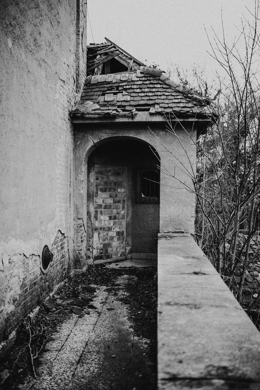 iamlost verlassene orte Dessau Altes Krematorium