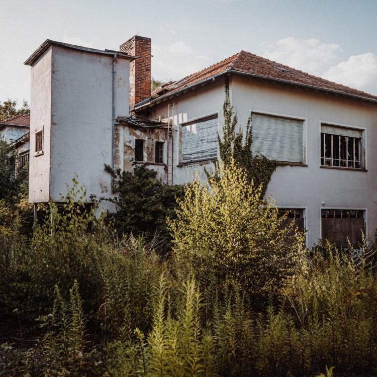 iamlost verlassene orte lostplace lostplaces urbex urban exploring Hessen Kleebach Gelände Weißkirchen