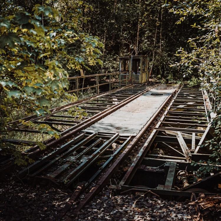 iamlost verlassene orte lostplace lostplaces urbex urban exploring Hessen Bahnbetriebswerk Kassel Gleisdreieck