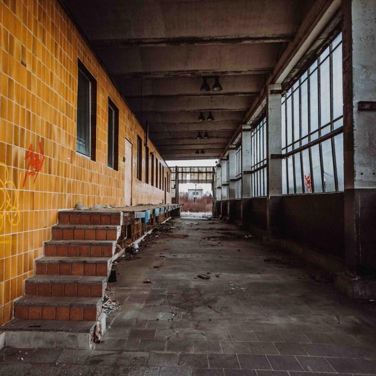 iamlost verlassene orte lostplace lostplaces urbex urban exploring Thueringen alter Milchhof Gera