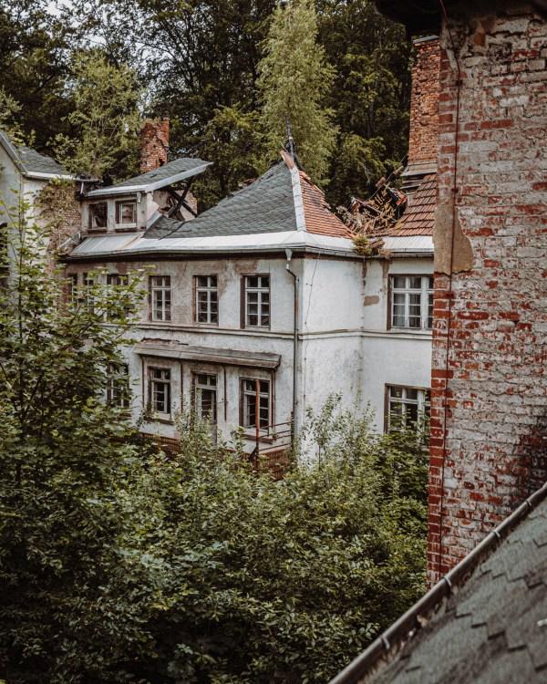 iamlost verlassene orte lostplace lostplaces urbex urban exploring Thueringen Kinderheim Hilde Coppi Schleusingen leerstehend