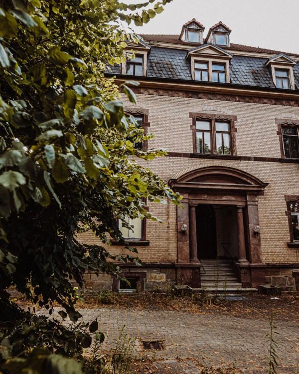 iamlost verlassene orte lostplace lostplaces urbex urban exploring Thueringen Rehaklinik Etzelbach