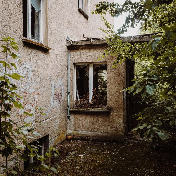 iamlost verlassene orte lostplace lostplaces urbex urban exploring Thueringen Saalfeld Sanatorium Sommerstein