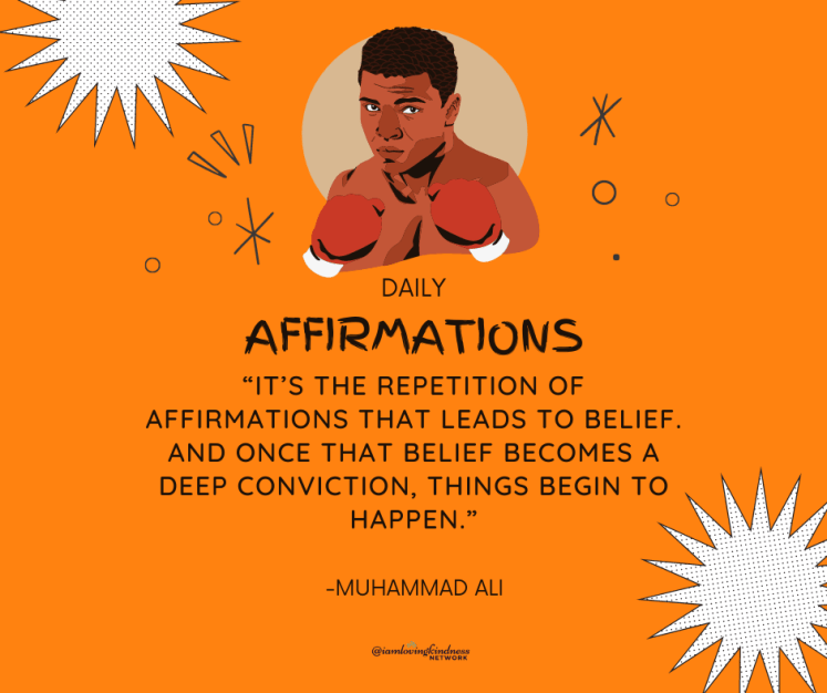 """""""it's the repetition of affirmations that leads to belief. and once that belief becomes a deep conviction, things begin to happen."""""""