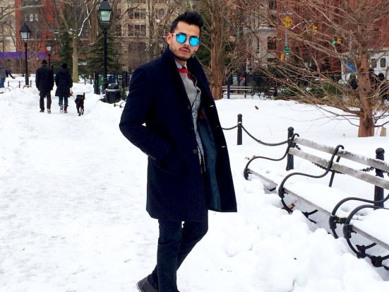 What Manchic Wore: Farewell, Winter Wonderland!