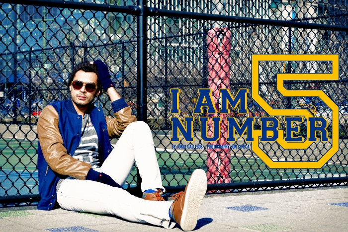 What Manchic Wore: I Am Number 5