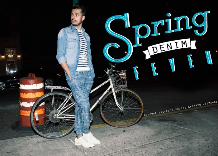 What Manchic Wore: Spring Denim Fever