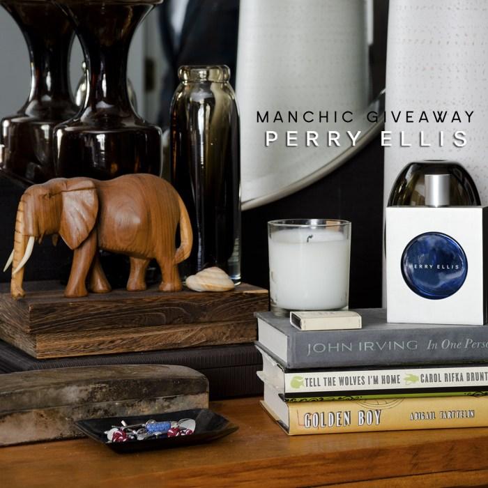 Manchic Giveaway: Perry Ellis Cobalt
