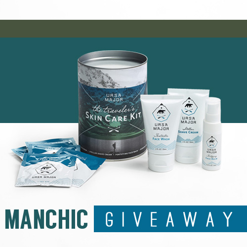 Manchic Giveaway: Ursa Major Traveler's Skin Care
