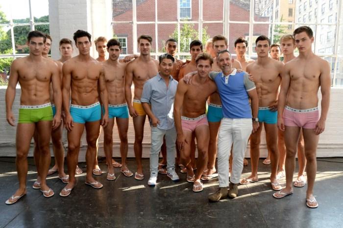 Parke & Ronen Spring 2015, Abs, Boys and Swim Trunks