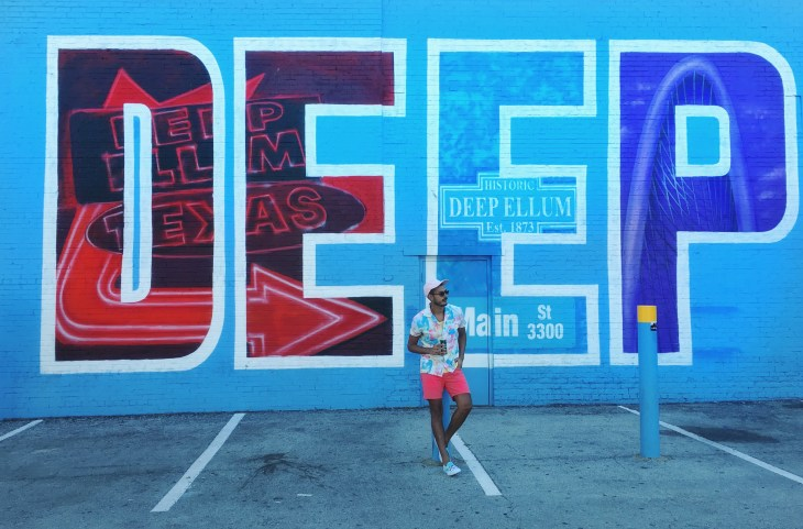 Exploring Dallas' Deep Ellum street-art paradise with Perrier