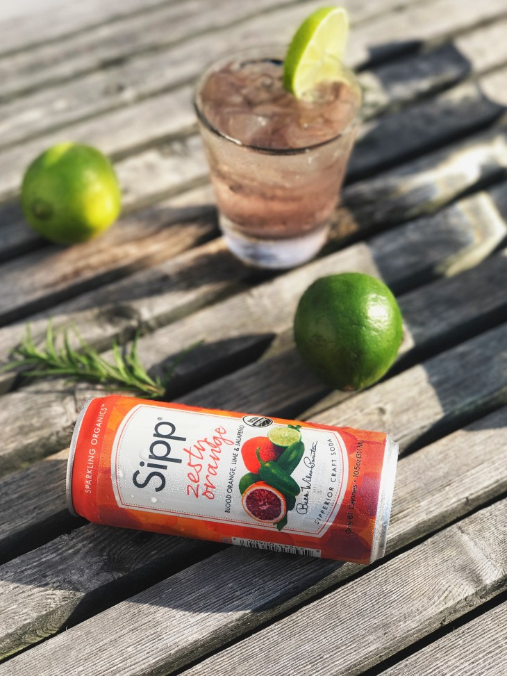 How to make a tasty margarita with Sipp Organic Sodas