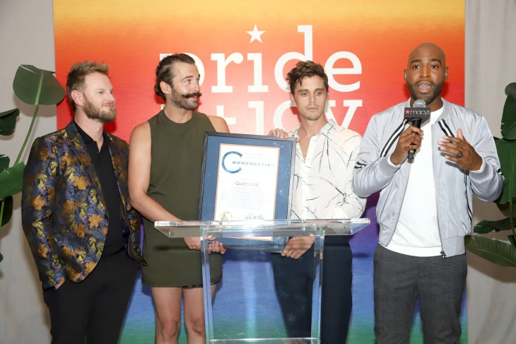 Macy's honors the guys of Queer Eye at their Pride + Joy party in New York City and I wasn't there