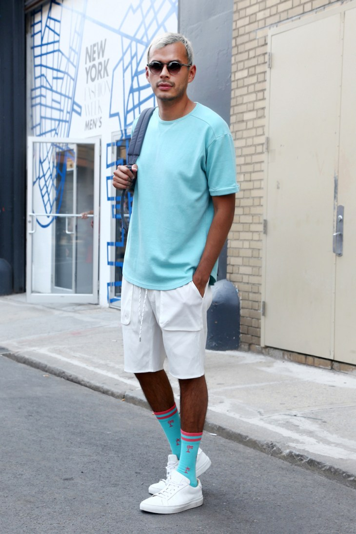 Spotted at NYFW: Men's SS2018 (Photo Jeff Eason)