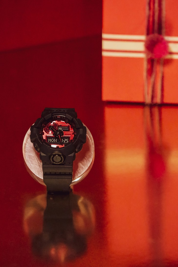 G-SHOCK Adrenalin Red Series GA700AR-1A from Casio