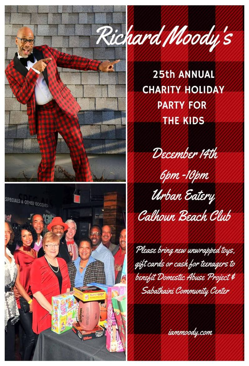 2015 Moody Holiday Party flyer