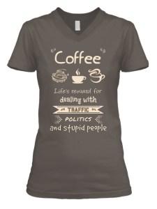 Coffee is Life's Reward Top Image