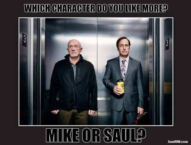 mike or saul