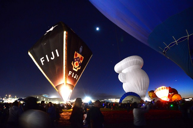 2016 Albuquerque International Balloon Fiesta Balloon Glow / Photo by Zachary Mayne