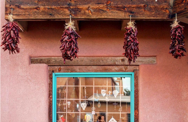 Ristras in Old Town Albuquerque, New Mexico / Photo credit Instagram user @gerlik