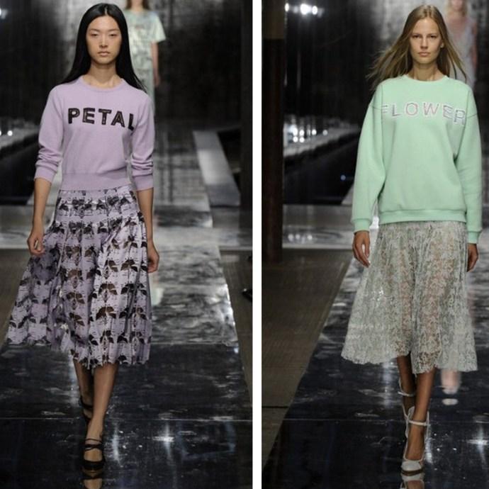 Christopher Kane Petal Sweater