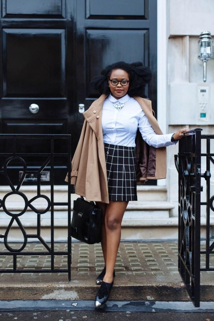 London Fashion Week Day 1 Outfit, I Am NRC, Ngoni