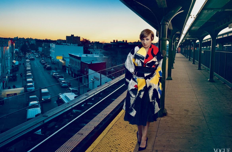 Lena Dunham US Vogue Cover