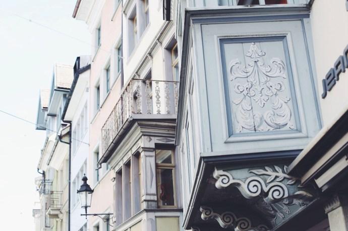 What to do in St Gallen, Windows in St Gallen, Travel Blogger