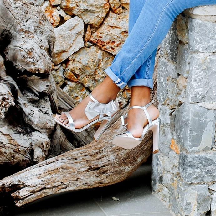 silver heels, asos heels, iamnrc