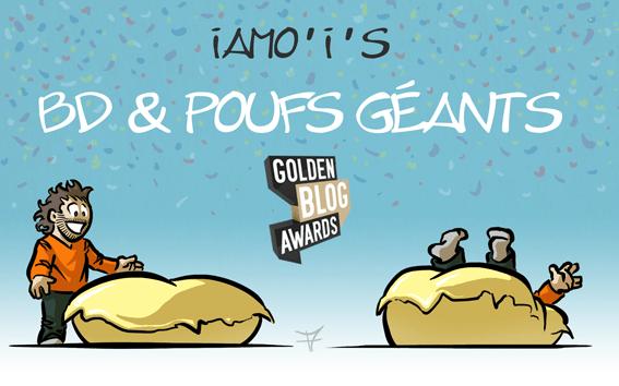Golden Blog Awards 2015 - auteur : iamo'i's