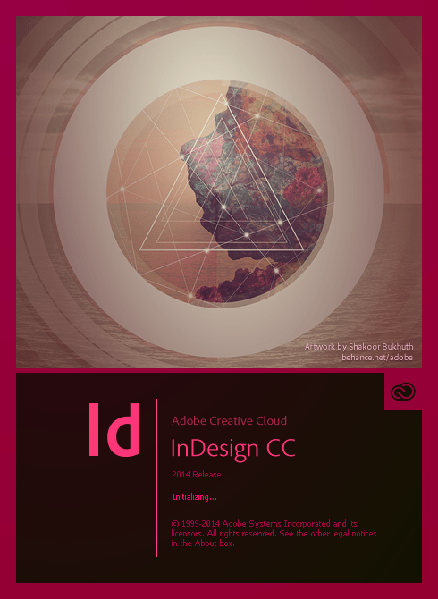 InDesign, Creative Cloud 2014