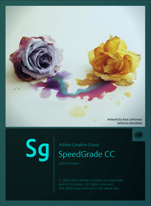 SpeedGrade, Creative Cloud 2014