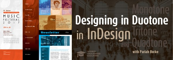Designing in Monotone, Duotone, Tritone, and Quadtone in InDesign