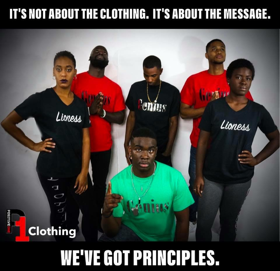 ITS NOT ABOUT THE CLOTHING.