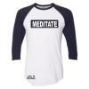 Meditate 3/4 Sleeve T-Shirt