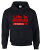 Black Life Is Effortless Hoodie