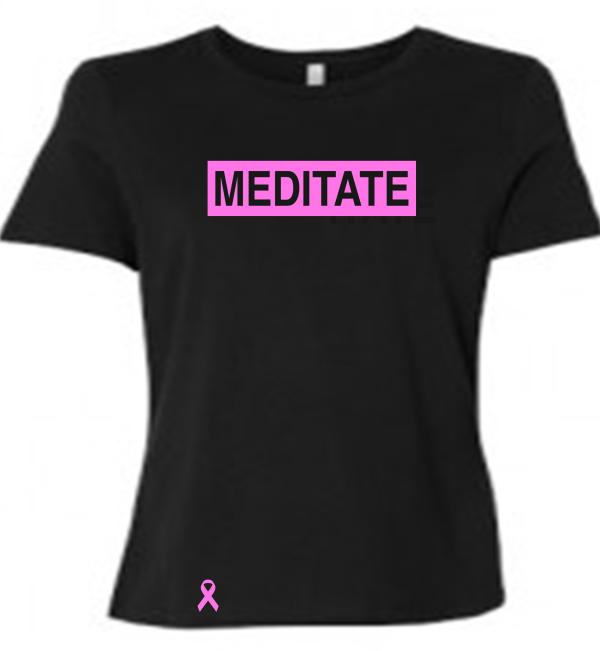 Meditate Ladies Breast Cancer Awareness
