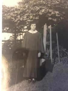Frances Flora - College Graduate