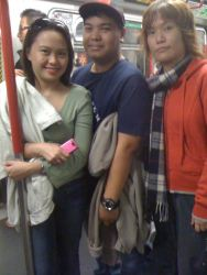On our way to HK Disneyland