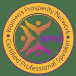 Women's Prosperity Network Certified Professional Speaker