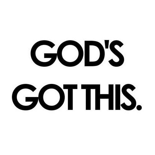 Gods got this
