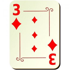 Three of Diamonds